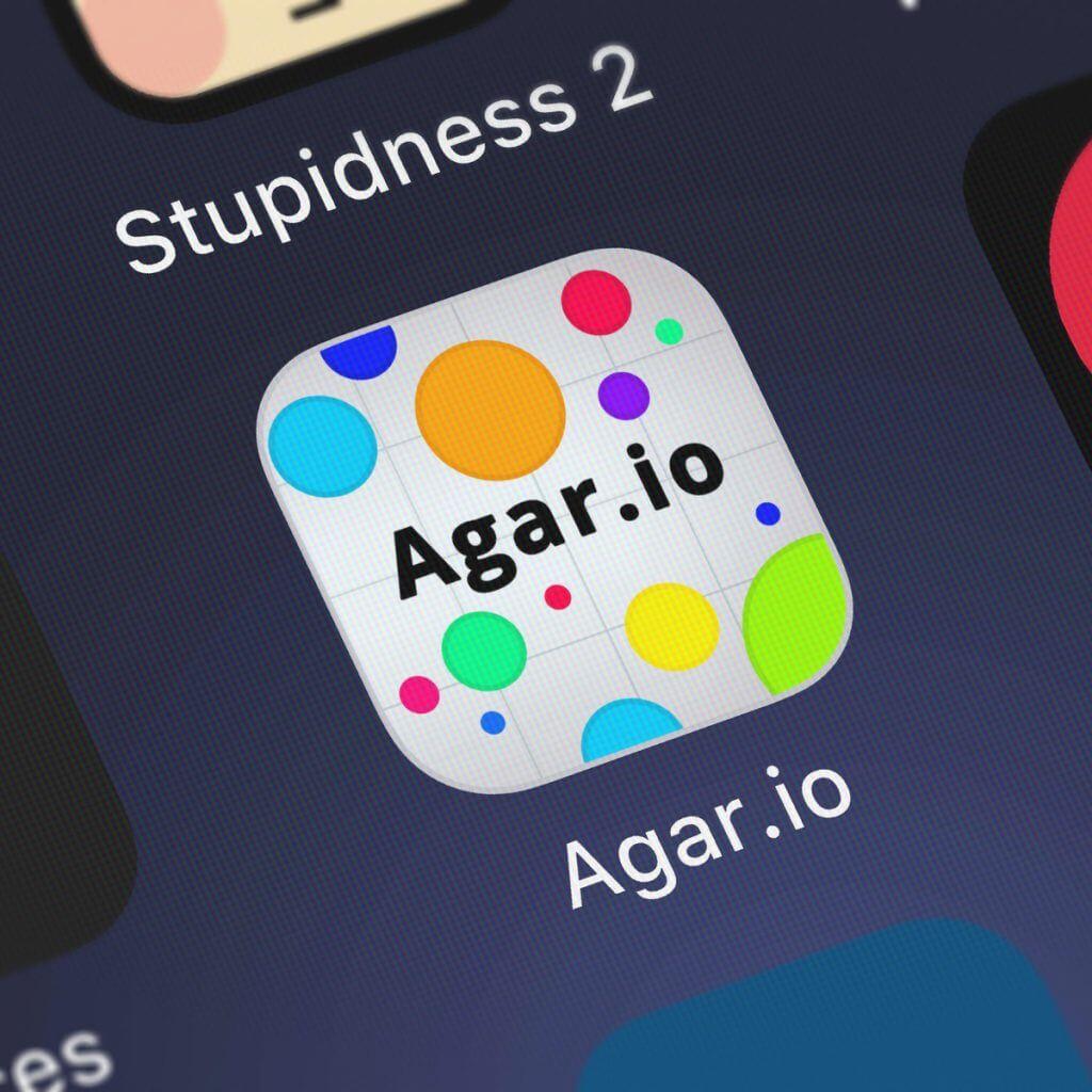 Agar.io app logo